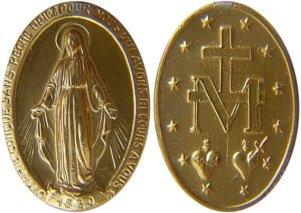 Matko Jezusa w medaliku